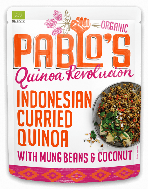 Indonesian Curried Quinoa - Pouch - Pablo's Quinoa