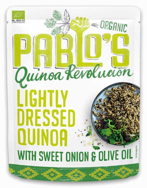 Lightly Dressed Quinoa - Pouch - Pablo's Quinoa